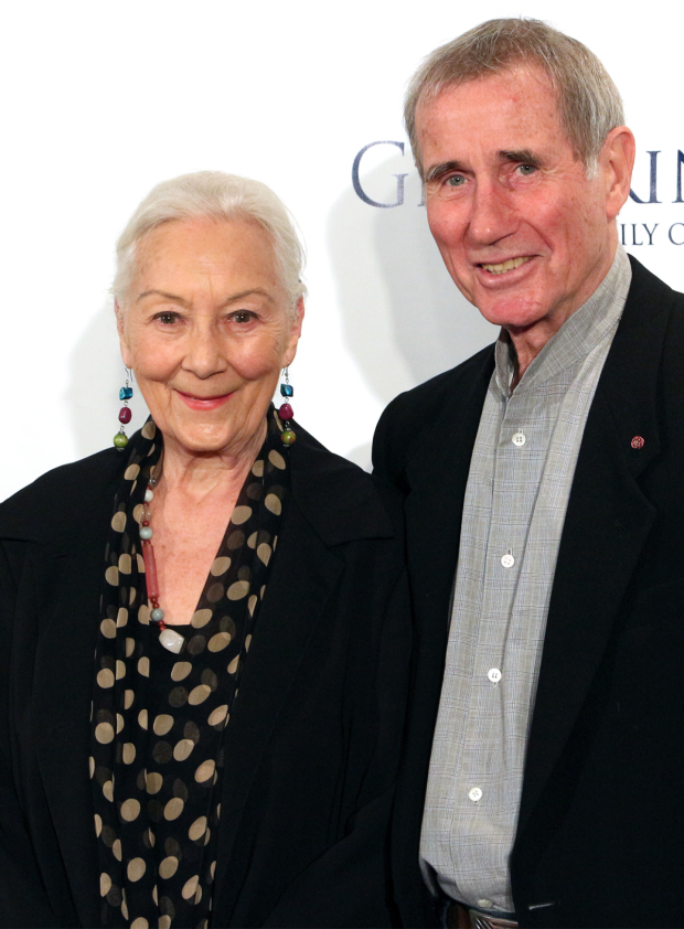 <p>Rosemary Harris (<em>Indian Ink</em>) and Jim Dale (<em>Just Jim Dale</em>)</p><br />(© David Gordon)
