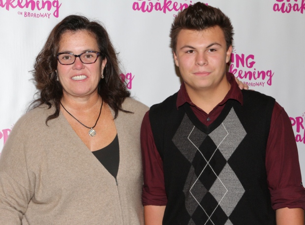 <p>Rosie O&#39&#x3B;Donnell brings along her son, Blake, to see the show.</p><br />(© David Gordon)