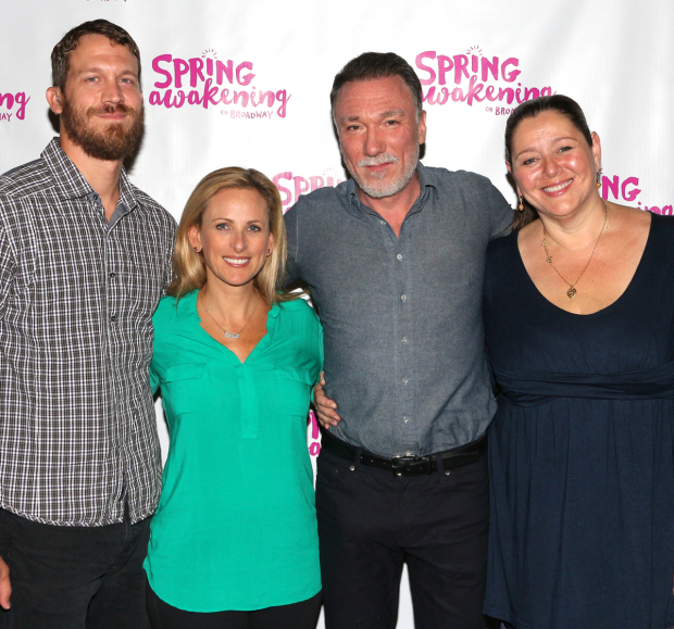 <p>Russell Harvard, Marlee Matlin, Patrick Page, and Camryn Manheim play the adult characters in <em>Spring Awakening</em>.</p><br />(© David Gordon)