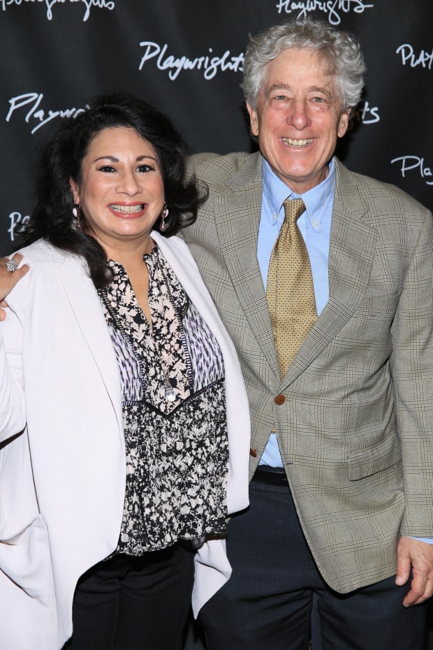 <p>Ruth Aguilar and Bill Buell appear in the show.</p><br />(© Tricia Baron)