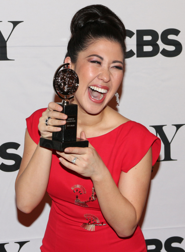 <p>Ruthie Ann Miles — Best Featured Actress in a Musical, <em>The King and I</em>.</p><br />(© David Gordon)