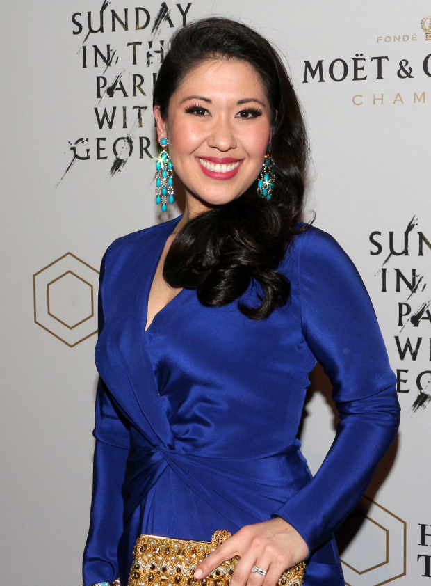 <p>Ruthie Ann Miles appears as Frieda.</p><br />(© David Gordon)