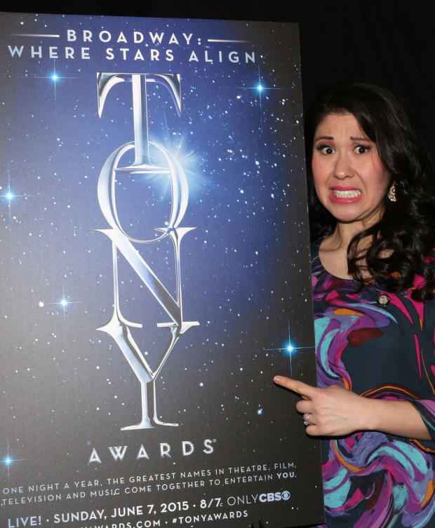 <p>Ruthie Ann Miles, Best Featured Actress in a Musical nominee for <em>The King and I</em>.</p><br />(© David Gordon)