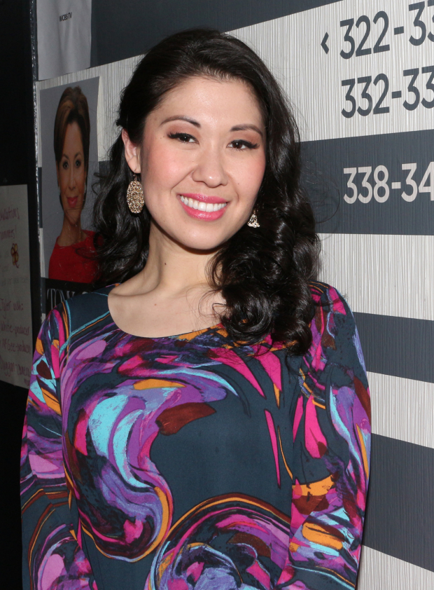 <p>Ruthie Ann Miles is part of the <em>King and I</em> contingent up for an award, nominated for her performance as Lady Thiang.</p><br />(© David Gordon)