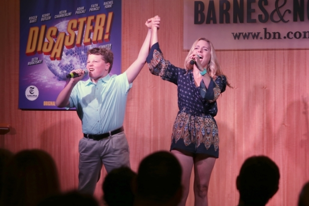 <p>Ryan Christopher Dever and Kerry Butler sing &quot&#x3B;I Am Woman.&quot&#x3B;</p><br />(© Tricia Baron)