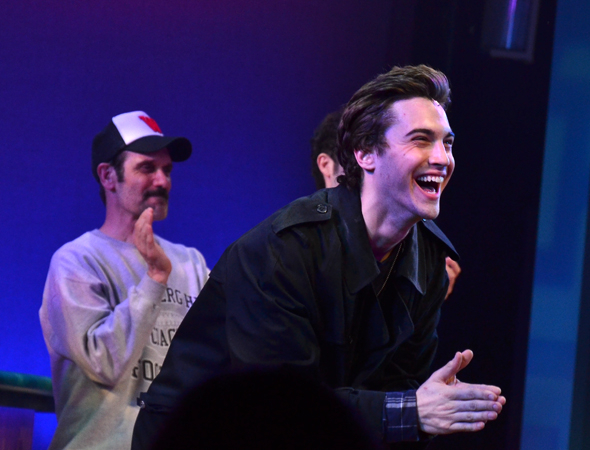 <p>Ryan McCartan shows his appreciation as he bows.</p><br />(© David Gordon)