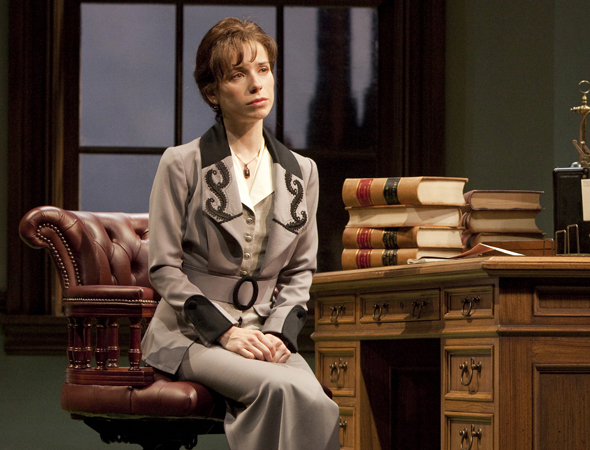 <p>Sally Hawkins (<em>Blue Jasmine</em>) made her Broadway debut in 2010 as Vivie in <em>Mrs. Warren&#39&#x3B;s Profession</em>.</p><br />(© Joan Marcus)