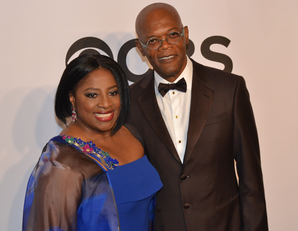 <p>Samuel L. Jackson supports his wife, LaTanya Richardson Jackson, nominated for her leading performance in <em>A Raisin in the Sun</em>. </p><br />(© David Gordon)