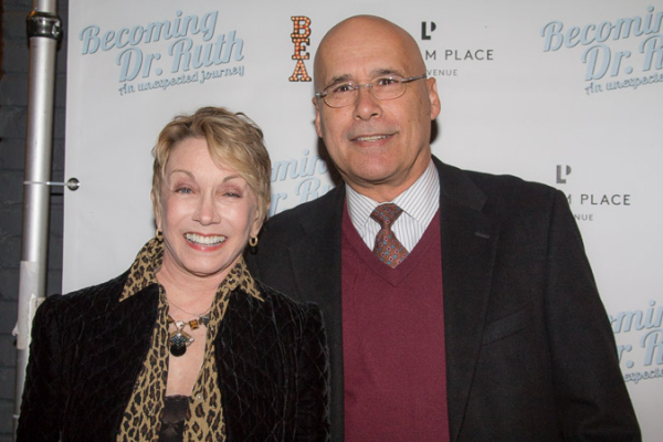 <p>Sandy Duncan with her husband, Don Correia.</p><br />(© Seth Walters)