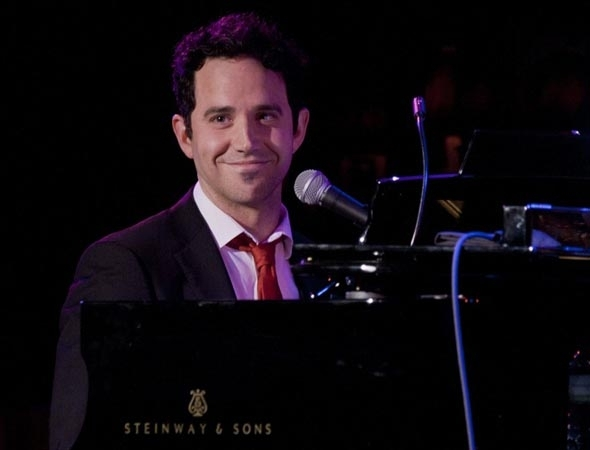<p>Santino Fontana takes the piano.</p><br />(© Kevin B. Winebold)