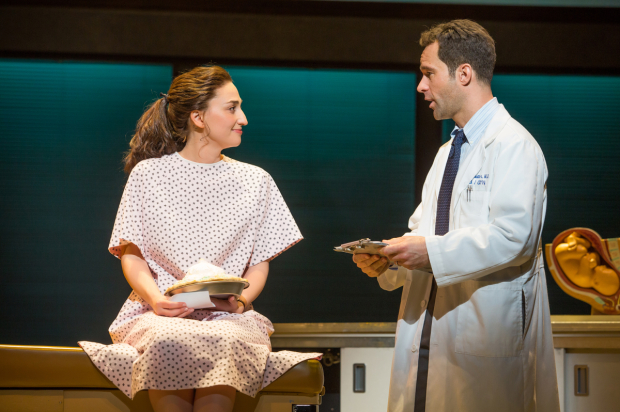 <p>Sara Bareilles makes her acting debut opposite Chris Diamantopoulos.</p><br />(© Jeremy Daniel)