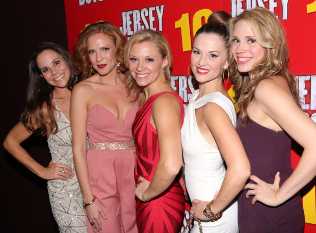 <p>Sara Schmidt, Candi Boyd, Cara Cooper, Katie O&#39&#x3B;Toole, and Jessica Rush all currently appear in the production.</p><br />(© David Gordon)