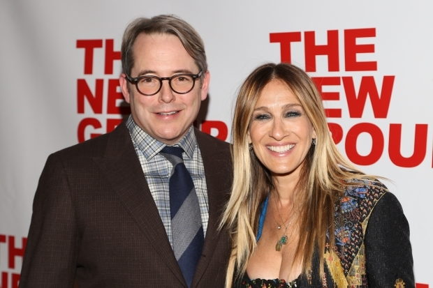 <p>Sarah Jessica Parker was on hand to support husband Matthew Broderick.</p><br />(© Tricia Baron)