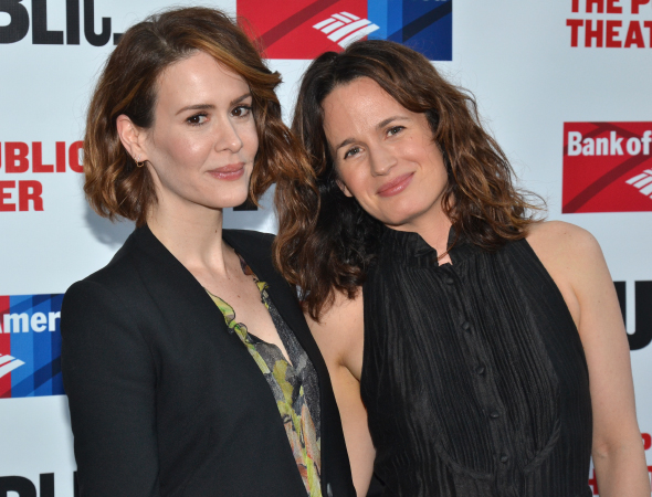 <p>Sarah Paulson and Elizabeth Reaser recently appeared together in the Bay Street Theatre&#39&#x3B;s production of Carey Crim&#39&#x3B;s <em>Conviction</em>.</p><br />(© David Gordon)