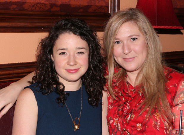 <p>Sarah Steele and Cassie Beck play sisters in <em>The Humans</em>.</p><br />(© David Gordon)
