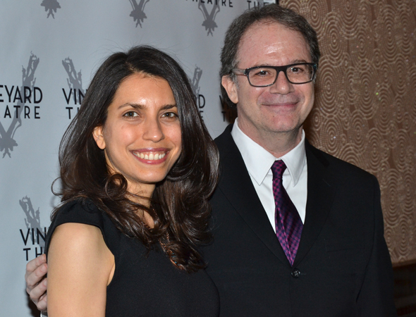 <p>Sarah Stern and Douglas Aibel are the Vineyard&#39&#x3B;s co-artistic directors.</p><br />(© David Gordon)