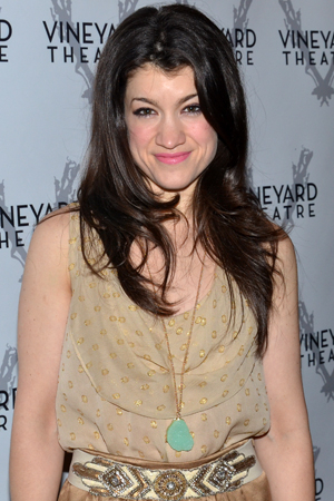 <p>Sarah Stiles currently appears off-Broadway in <em>Hand to God</em> at the Lucille Lortel Theatre.</p><br />(© David Gordon)