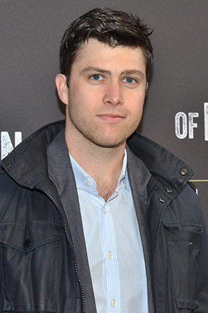 <p><em>Saturday Night Live</em> cast member Colin Jost arrives for the performance.</p><br />(© David Gordon)