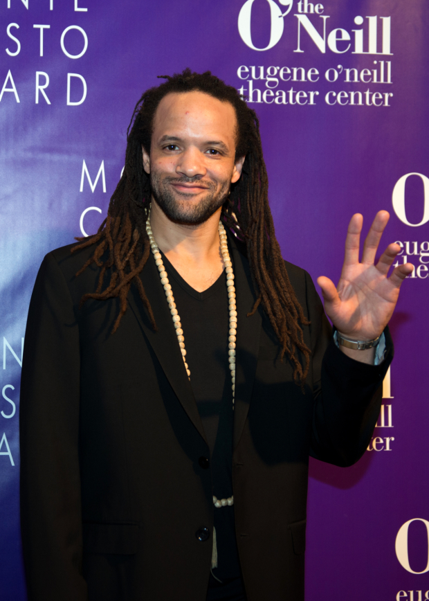 <p>Savion Glover performed in honor of his longtime collaborator George C. Wolfe.</p><br />(© Allison Stock)