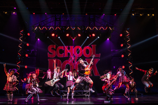 <p><em>School of Rock</em> is on tour now.</p><br />(© Matthew Murphy)