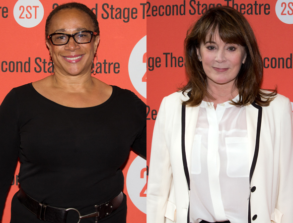 <p>Second Stage veterans S. Epatha Merkerson and Patricia Richardson were also on hand for the performance.</p><br />(© Seth Walters)