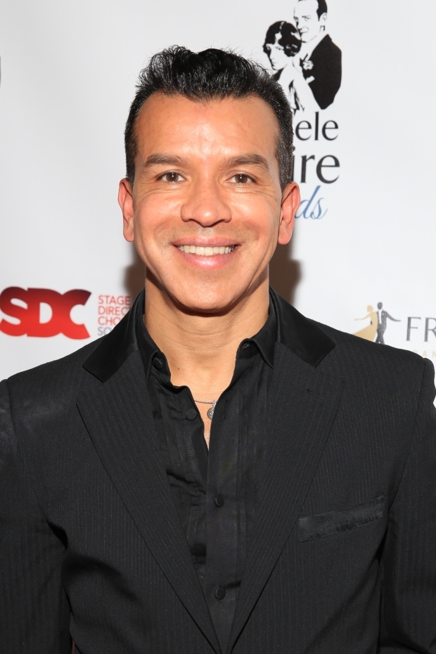 <p>Sergio Trujillo was named Best Choreographer for his work in <em>On Your Feet!</em></p><br />(© Tricia Baron)
