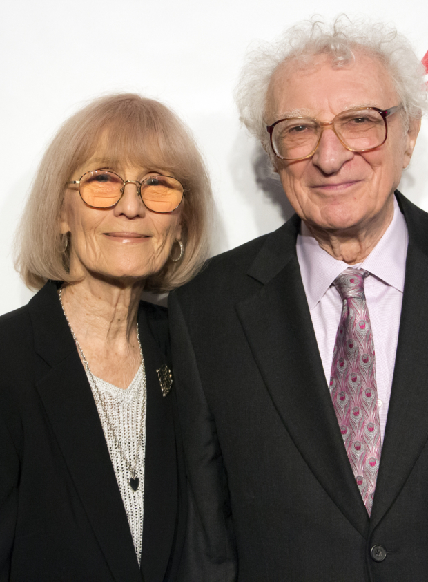 <p>Sheldon Harnick (seen here with his wife, Margery) is the recipient of the Distinguished Achievement in Musical Theater Award.</p><br />(© David Gordon)