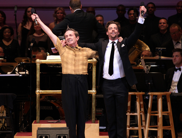 <p>Short and Borle take a bow.</p><br />(© David Gordon)
