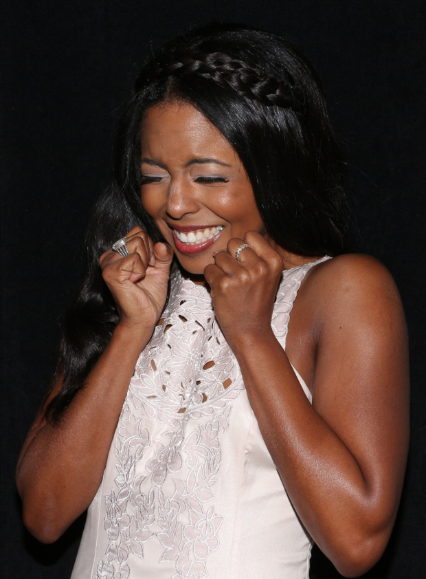 <p><em>Shuffle Along</em>&#39&#x3B;s Adrienne Warren is thrilled to be nominated for the first time.</p><br />(© David Gordon)