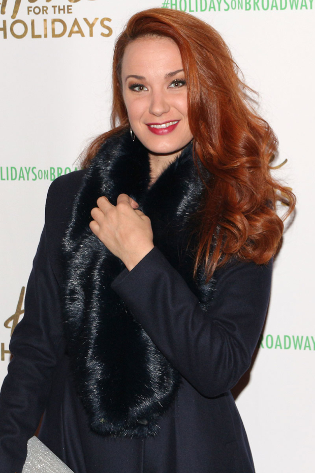 <p>Sierra Boggess gets ready for a spectacular Christmas show.</p><br />(© David Gordon)