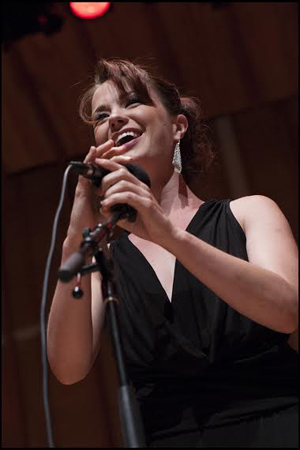 <p>Sierra Boggess takes the stage to perform.</p><br />(© Christopher Gagliardi)