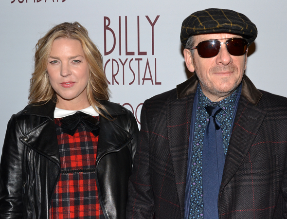 <p>Singers Diana Krall and Elvis Costello share date night with <em>700 Sundays</em>.</p><br />(© David Gordon)