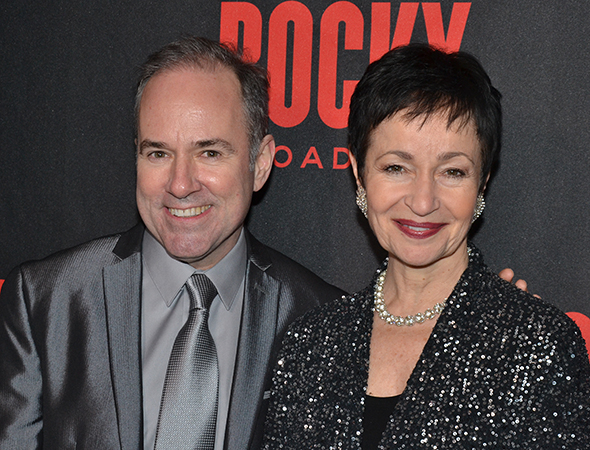 <p>Songwriters Stephen Flaherty and Lynn Ahrens are thrilled to return to Broadway with <em>Rocky</em>.</p><br />(© David Gordon)