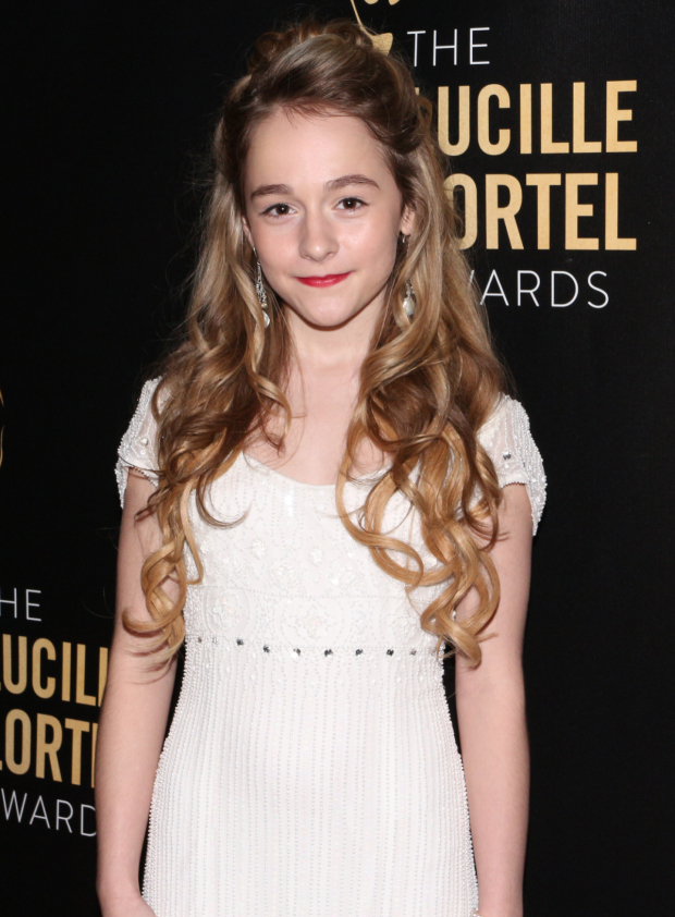 <p>Sophia Anne Caruso is nominated for her performance in <em>The Nether</em>.</p><br />(© David Gordon)