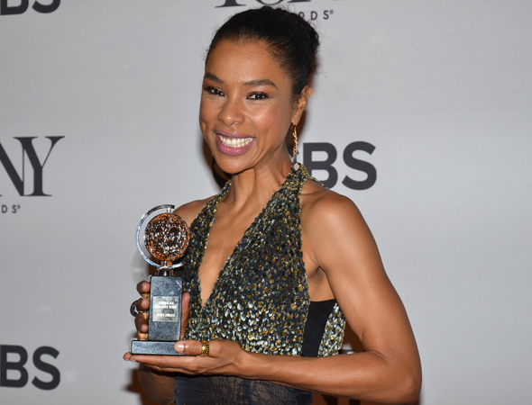 <p>Sophie Okonedo, winner of the Best Featured Actress in a Play Tony Award for <em>A Raisin in the Sun</em>.</p><br />(© David Gordon)