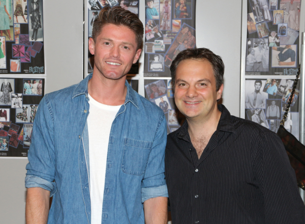 <p>Spencer Liff and Vadim Feitchner serve as the production&#39&#x3B;s choreographer and musical director.</p><br />(© David Gordon)
