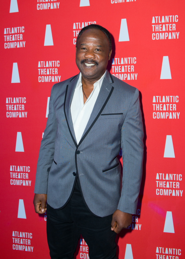 <p>Stage and screen favorite Isiah Whitlock Jr. checks out <em>Marie and Rosetta</em>.</p><br />(© Allison Stock)