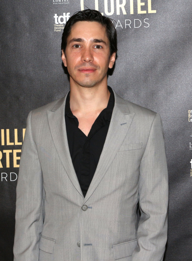 <p>Stage and screen vet Justin Long presented the award for Outstanding Lead Actor in a Play.</p><br />(© David Gordon)