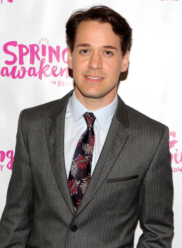 <p>Stage and screen vet T.R. Knight is on hand to check out <em>Spring Awakening</em>.</p><br />(© David Gordon)