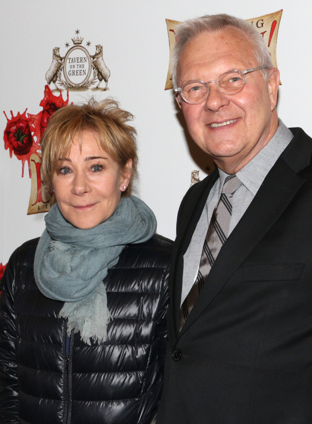 <p>Stage legend Zoë Wanamaker shares the evening with Tony-winning director Walter Bobbie.</p><br />(© David Gordon)