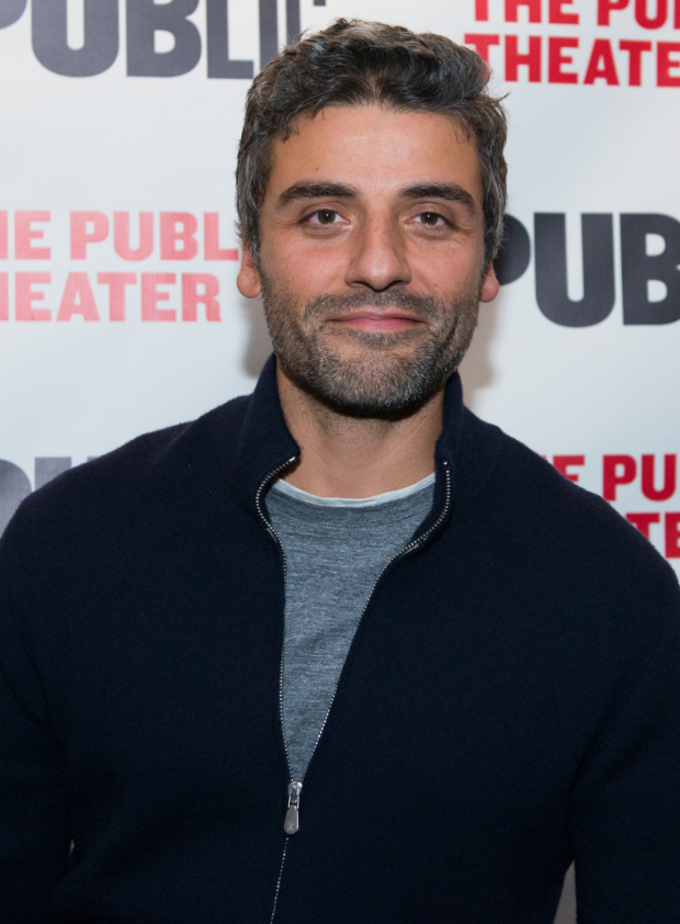 <p><em>Star Wars</em> favorite Oscar Isaac is on hand to see <em>Plenty</em>.</p><br />(© Allison Stock)