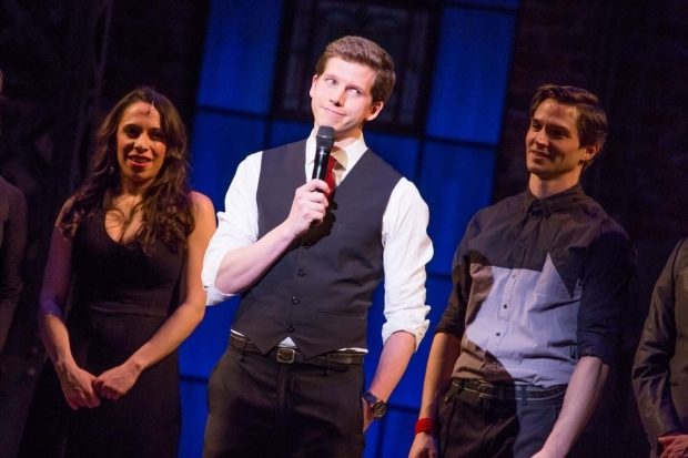 <p>Stark Sands performs &quot&#x3B;I Come to the Rescue.&quot&#x3B;</p><br />(© Jeremy Daniel)