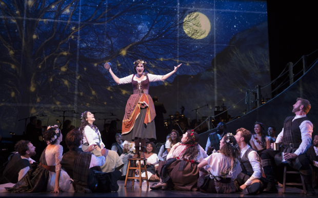 <p>Stephanie J. Block takes center stage.</p><br />(© Joan Marcus)