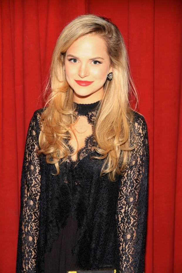 <p>Stephanie Styles takes on the role of Suz in <em>Kingdom Come</em>.</p><br />(© Tricia Baron)