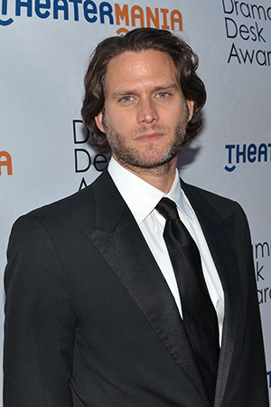 <p>Steven Pasquale — Outstanding Actor in a Musical nominee for <em>The Bridges of Madison County</em>.</p><br />(© David Gordon)