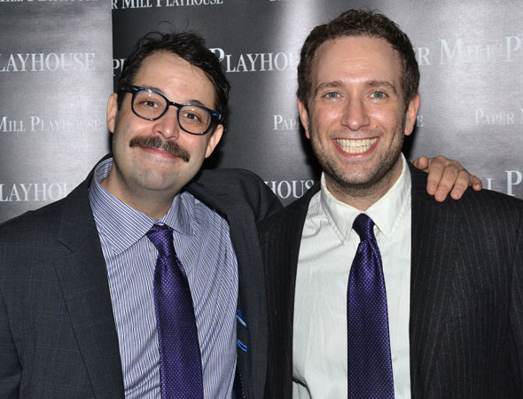 <p>Steve Rosen and David Rossmer not only wrote <em>The Other Josh Cohen</em>, they also play the title character.</p><br />(© David Gordon)