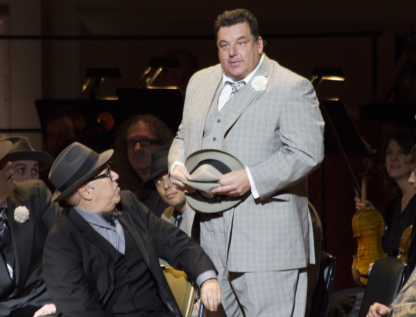 <p>Steve Schirripa makes a rare musical theater appearance as Big Jule.</p><br />(© David Gordon)