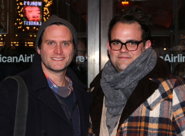 <p>Steven Pasquale and Greg Hildreth starred together in Roundabout&#39&#x3B;s 2016 production of <em>The Robber Bridegroom</em>.</p><br />(© David Gordon)