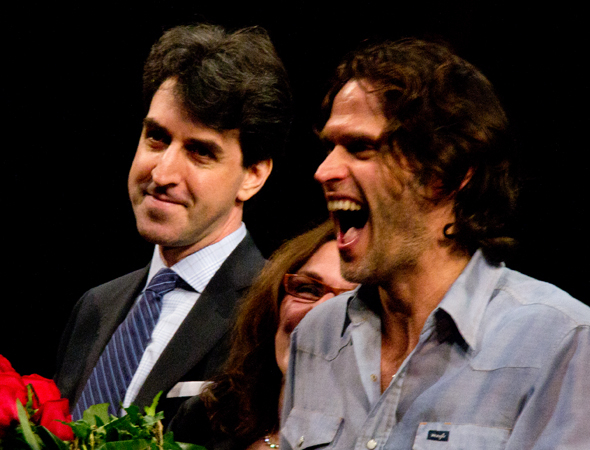 <p>Steven Pasquale can hardly contain his enthusiasm about making his Broadway musical debut.</p><br />(© David Gordon)