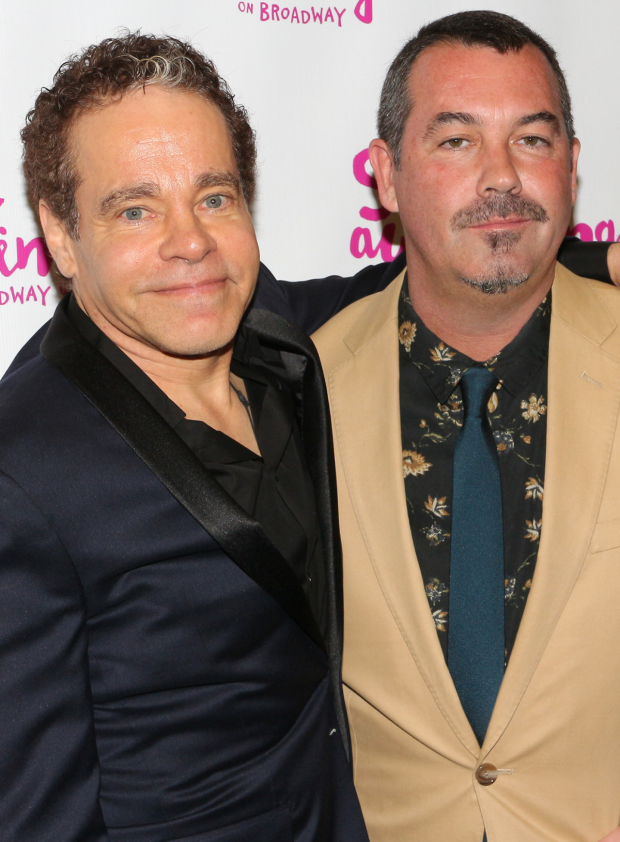 <p>Steven Sater and Duncan Sheik are proud to see their Tony-winning musical back on Broadway.</p><br />(© David Gordon)